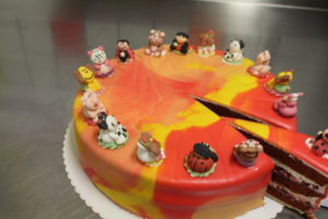 Kindergeburtstag Red-Velvet Cake